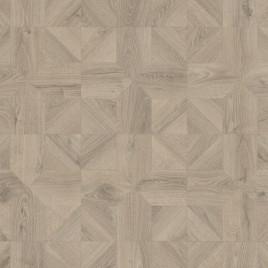 Ламинат Quick-Step Impressive patterns Дуб серый теплый брашированный IPA 4141